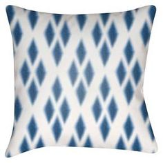Throw pillows are a brilliant and an easy way to change the look of a couch or chair. If you're hesitant to introduce textures or patterns, this Juruena Diamonds Throw Pillow by Surya is the perfect way to begin adding some style your space. Whether you let it stand on its own on a recliner or pair it with other pillows, you'll love the comfort this simple accent piece brings.