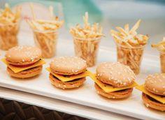 hamburger-macarons