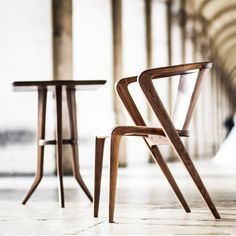 The Roots Armchair, by AROUNDtheTREE, upholstered in natural cork fabric, is an extremely eco-friendly dining chair which doesn't compromise the comfort. http://www.apresfurniture.co.uk/roots-armchair