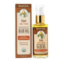 Badger Balm Argan Hair Oil