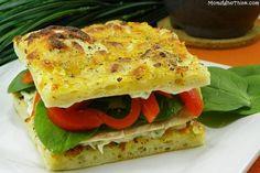 30 minute - chicken focaccia sandwiches