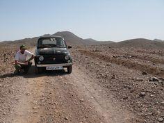 La 500 in viaggio verso l'IRAN