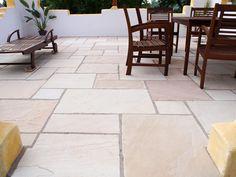 Urlaubsfeeling auf der eigenen Terrasse, Sandstein macht's möglich! - stonenaturelle