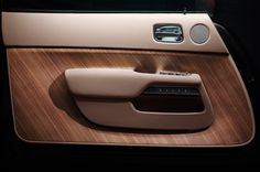 Rolls-RoyceWraith - Canadel Panelling open pore wood finish