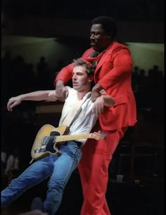 Bruce Springsteen  -  Bruce and Clarence  1978   .   .   .   .   .   thesamiposts