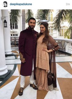 Ranveer & Deepika snapped during #BajiraoMastani promotions.