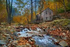 Rice Grist Mill -  Norris Dam State Park, Tennessee