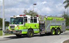Miami Fire Department | Miami-Dade Fire Rescue Redland Tanker-60 2004 Pierce Quantum 1500/2000 ...