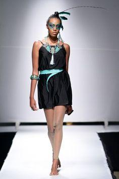 #ndaucollection Look 8 Zimbabwe Fashion Week 2013 Photography / SDR Photo