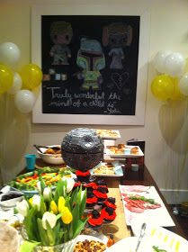 1 October: Star Wars Baby Shower