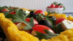 Frittomisto: cucina ed emozioni: Crostata di riso con pomodorini, feta e rucola