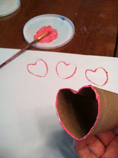 Easy Valentine craft.