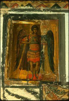 Archange Michel icône Sinaï Gabriel, Black Hebrew Israelites, Age Of Aquarius, Byzantine Icons, Icon Collection, Orthodox Icons, Illuminated Manuscript, Les Oeuvres, History