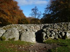 Clava Cairns - A Neolithic Burial Ground near Inverness