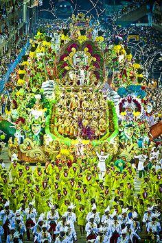 Carnival, Rio de Janeiro.