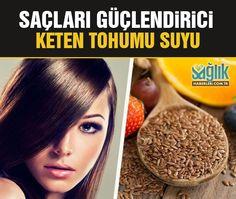 Saçları Güçlendirmek İçin Keten Tohumu Suyu..! Bu yazımızda, piyasada bulabileceğiniz saç bakım ürünlerine doğal bir alternatif sunuyoruz. #ketentohumu #saçbakımı