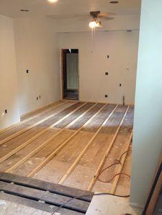 Elegant Replace Basement Floor
