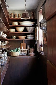storage, I may have to do this with the other half of my laundry room: Prim Pantry!<3