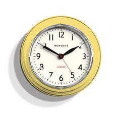 Newgate Mini Cookhouse Clock | Lemon