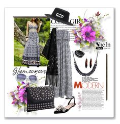 """""""SheIn.com contest"""" by ane-twist ❤ liked on Polyvore featuring Maison Michel, Bling Jewelry and Cuero"""