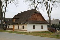 Horácký dům z Kadova se skládanou lomenicí