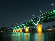 Cheongdam Bridge, Seoul, South Korea