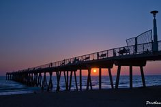 Sunset in Hermosa beach by Preetham Reddy Hermosa Beach, Sunset, Travel, Viajes, Sunsets, Traveling, The Sunset, Tourism, Outdoor Travel