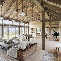 WOW!  Interior styled by Liz Stiving-Nichols of Martha's Vinyard Designs