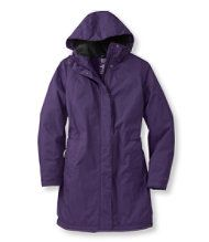 Winter Warmer Coat -Royal Purple  LL Bean