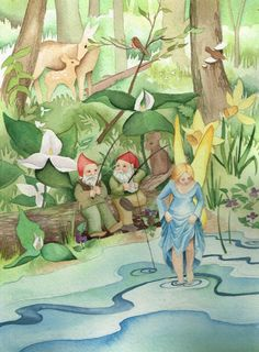 Gift Books & Art Print - The Tales of Tiptoes Lightly by Reg Down