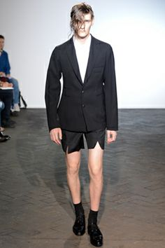 Raf Simons Spring 2013 Menswear Collection on Style.com: Complete Collection