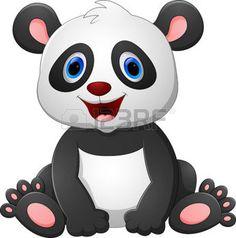 safari bebe: historieta de la panda del bebé lindo