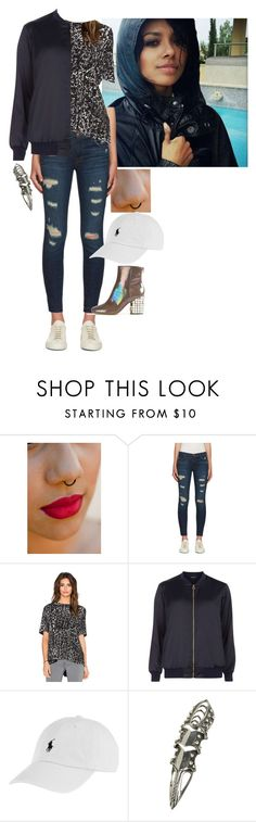"""Teagan Coleman"" by ashleyr0sexo ❤ liked on Polyvore featuring J Brand, Enza Costa, Dorothy Perkins, Polo Ralph Lauren, Wet Seal and Maison Margiela"