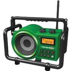 TOUGHBOX AM/FM WORKSITE RADIO (Catalog Category: IMPORT PRODUCTS / PORTABLE & PERSONAL AUDIO) by Sangean. $121.88. TOUGHBOX AM/FM WORKSITE RADIO (Catalog Category: IMPORT PRODUCTS / PORTABLE & PERSONAL AUDIO)10 STATION PRESETS 5 FM, 5 AM; WATER RESISTANT SPEAKER; AUX-IN FOR MP3 OR IPOD(R); 2.7M RUBBER CABLE; EASY CABLE STORAGE; ROLL-CAGE PROTECTION; RAIN RESISTANT; DUST RESISTANT; SHOCK RESISTANT; RECHARGEABLE WITH CHARGING LED INDICATOR