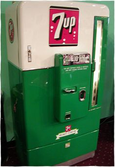 Vintage 7up machine...like the ones in COD zombies!!!