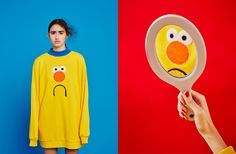 Lazy Oaf launches a clothing collection based on film series Don't Hug Me, I'm Scared   Creative Review