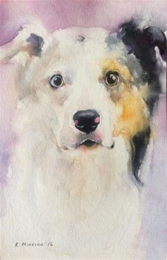 "Daily Paintworks - ""adopt230"" - Original Fine Art for Sale - © Katya Minkina"