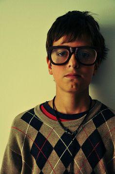 glasses...