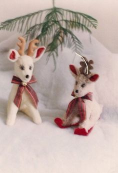 Rene Reggie Reindeer Christmas Soft Sculpture Toy Gift, sewing pattern