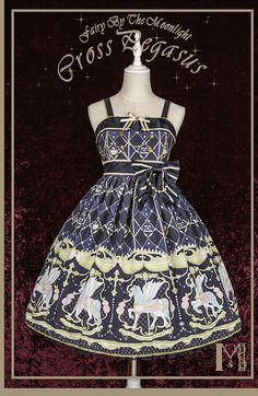 Fairy by the Moonlight +Cross Pegasus+ Lolita JSK