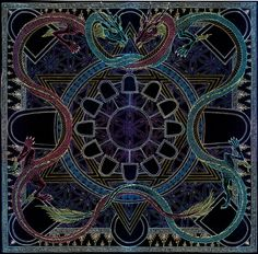 Mandala of the Gate Keeper by ~Lakandiwa on deviantART