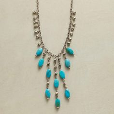 TIERED TURQUOISE NECKLACE