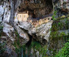 Santuario Covadonga. Spain