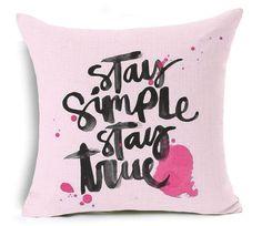 LUXURIOUS MOTIVATIONAL INSPIRATIONAL Wooven Cushion/Pillow Cover 17 x 17