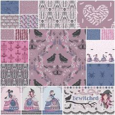 Bewitched Fat Quarter Bundle in Alchemy