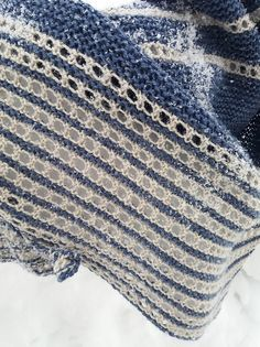 It is a simple bias shawl knit in garter stitch patern with simple lace stripes. Quick and necessary accessory for upcoming spring! Crochet Jacket, Knitted Poncho, Knitted Shawls, Knit Scarves, Scarfs, Crochet Braid Pattern, Knit Crochet, Ravelry Crochet, Crochet Stitches