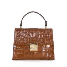 Attavanti - Arcadia Elise Italian Croc Print Leather Grab Handbag - Tan, £199.00 (https://www.attavanti.com/luxury-italian-leather-designer-handbags/arcadia-elise-italian-croc-print-leather-grab-handbag-tan/)