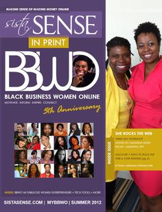 Sylvia was named by Black Business Women Online '50 Fabulous Women Entrepreneurs' 2012