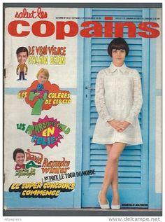 Salut Les Copains N°86 Bob Dylan - Claude François - Nicoletta - Alain Delon - David Alexandre - Mireille Mathieu - People