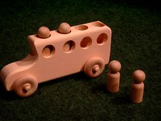 natural Baby and Kids Toys : Wooden School bus Toy Natural Baby, Natural Kids, Baby Registry, Toy Store, Organic Baby, Wood And Metal, Make And Sell, 6 Years, Wooden Toys